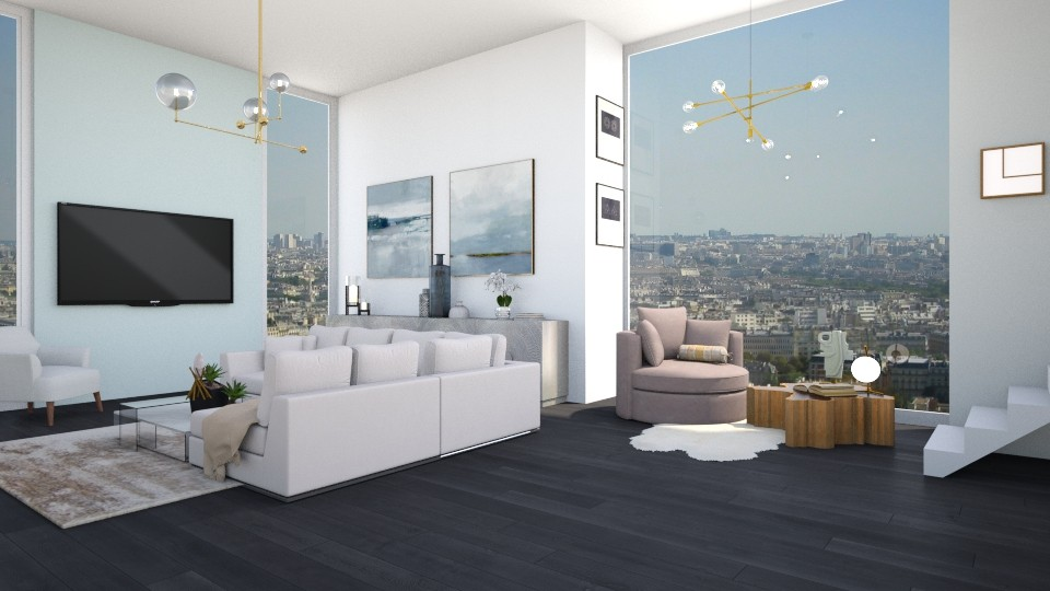 Paris - Living room - by mashusirjak