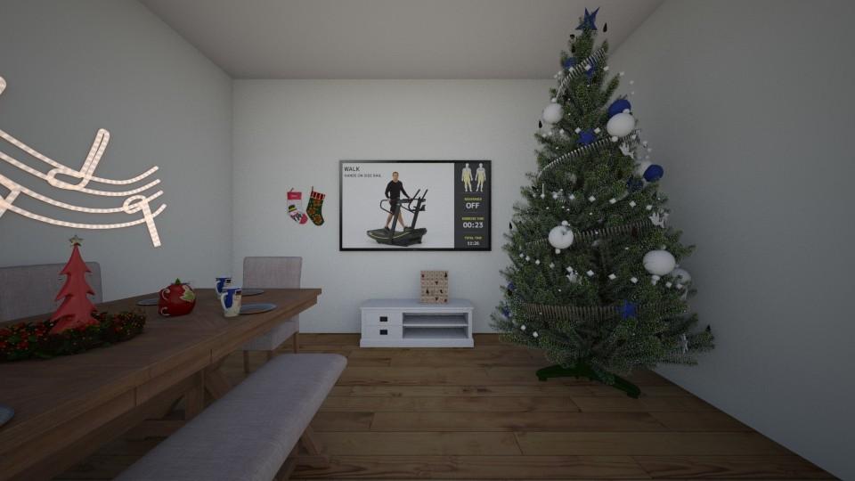 living room christams - Living room  - by MajaSiwek