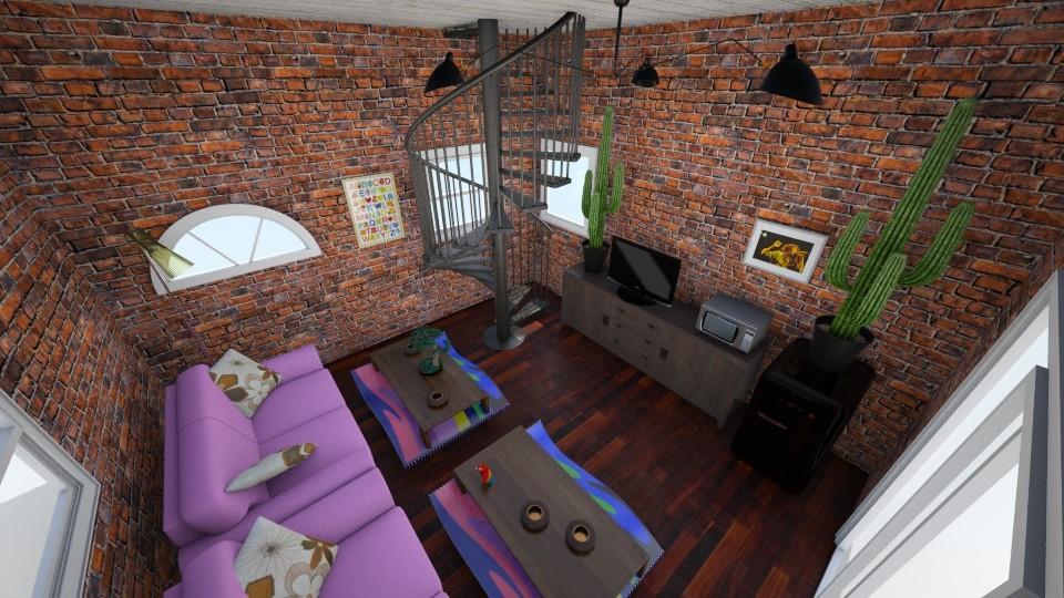 Chillroom - Vintage - Living room - by Sidney Liebrand