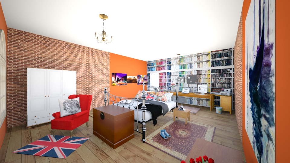 Valeri room - Bedroom - by AdriennSamu