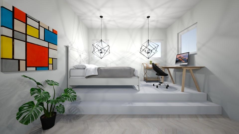 bedroom - Modern - Bedroom - by Kootje