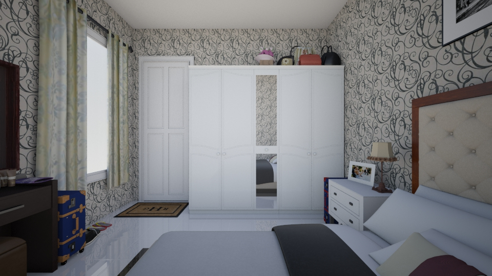 bride - Bedroom - by sasasaaaw