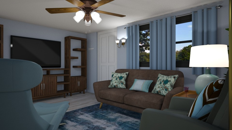Our New House LR - Living room - by SherryDW