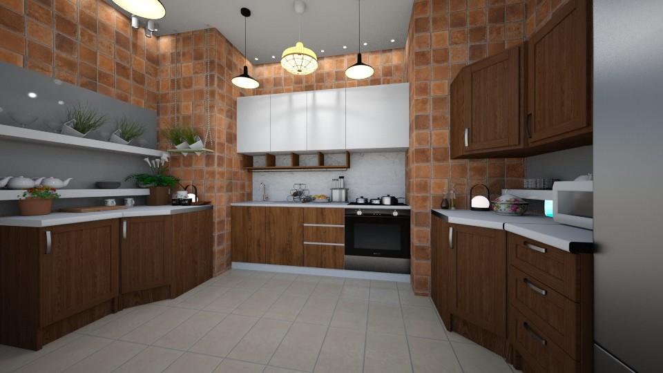 kitchen - by renowkas78