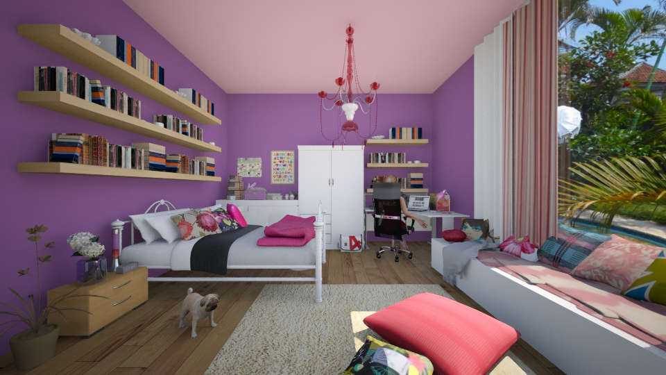 Teenage room - Country - Bedroom - by nellica