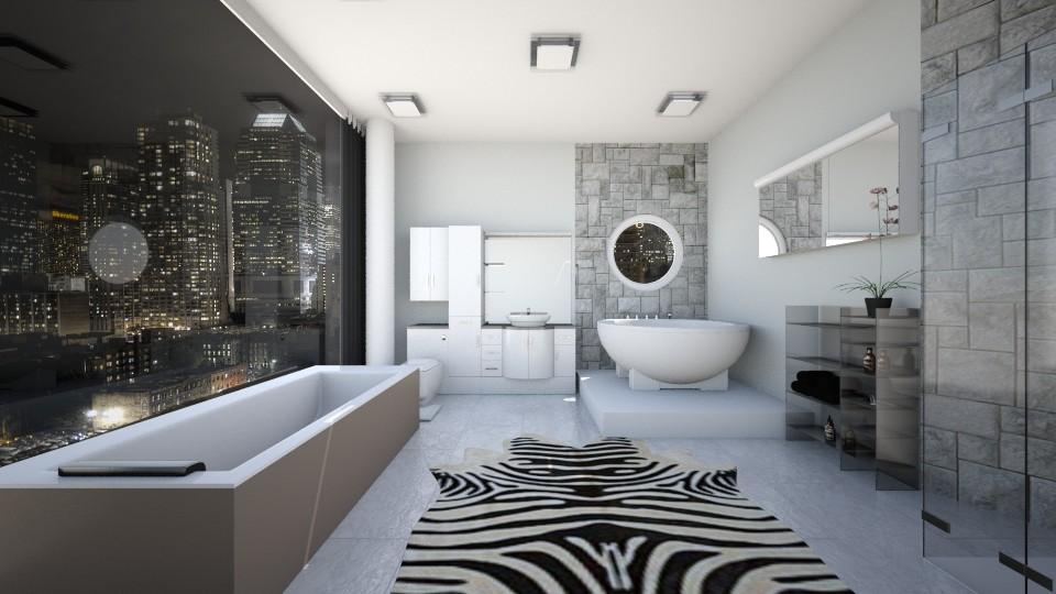 Modern Bathroom - Bathroom  - by Mary Young