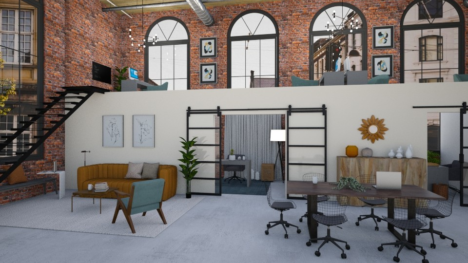 factory office - Office - by _xandra_