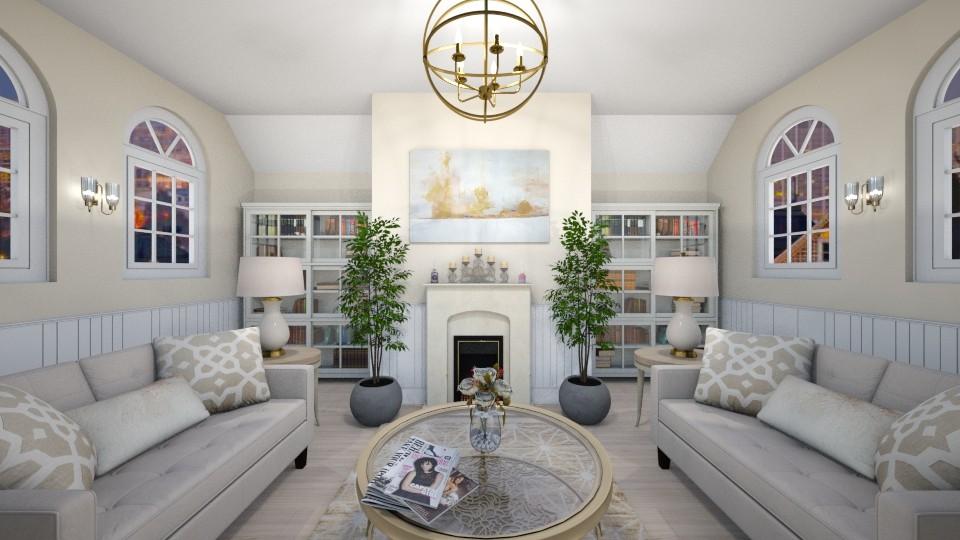 Cozy Living Room 3 - Living room - by elle rose