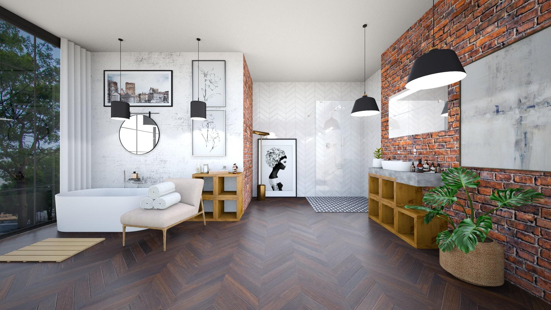 Sophias Bathroom - Minimal - Bathroom  - by Happyspaniel