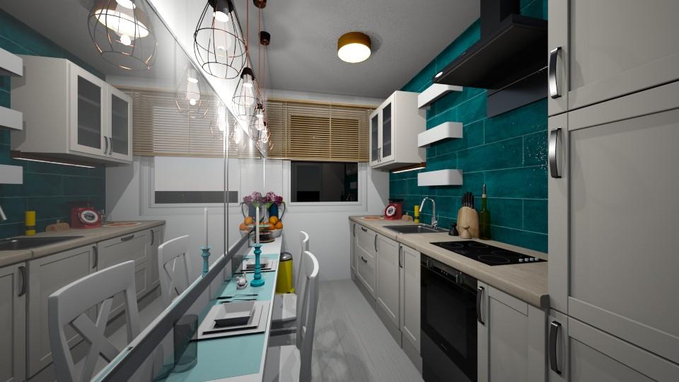 small panel kitchen - by norcska