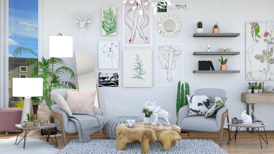 Spring - Feminine - Living room  - by annator