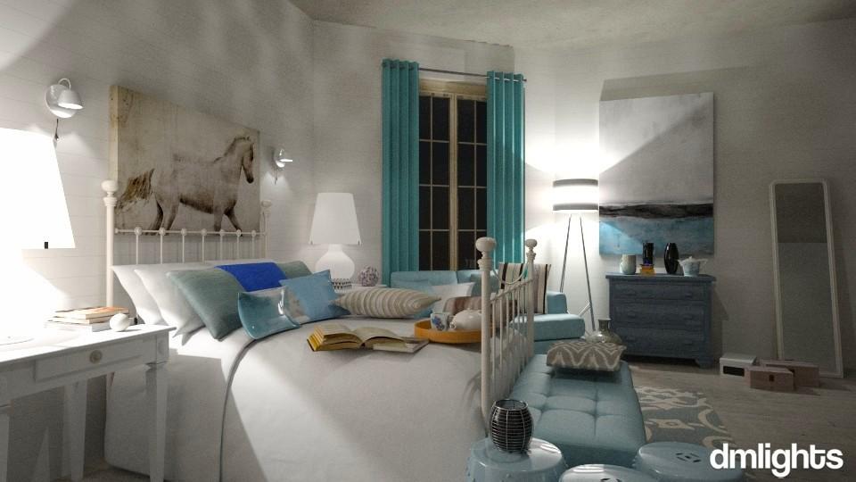 Night_tea_book_dmlights - Bedroom - by Mihailovikj Mimi