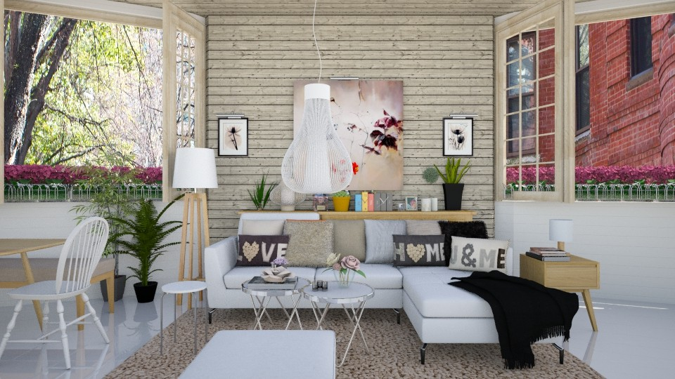 CozySmallLivingRoom - Living room - by Mihailovikj Mimi