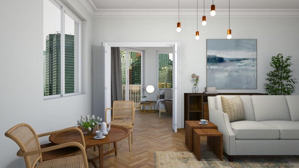 a little bit of vintage - Living room  - by dorota_k