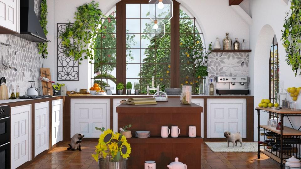Artisan Mediterranean - Kitchen - by ArtHousedeco