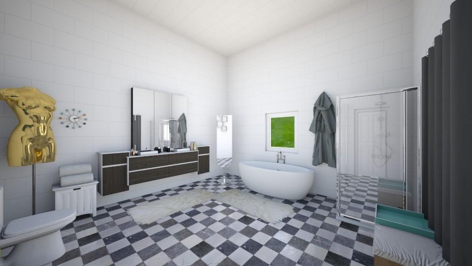 bathroom - by pandabearjames