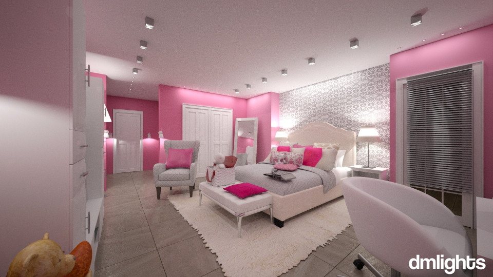 Avery Snow Room - Kids room  - by DMLights-user-1186190