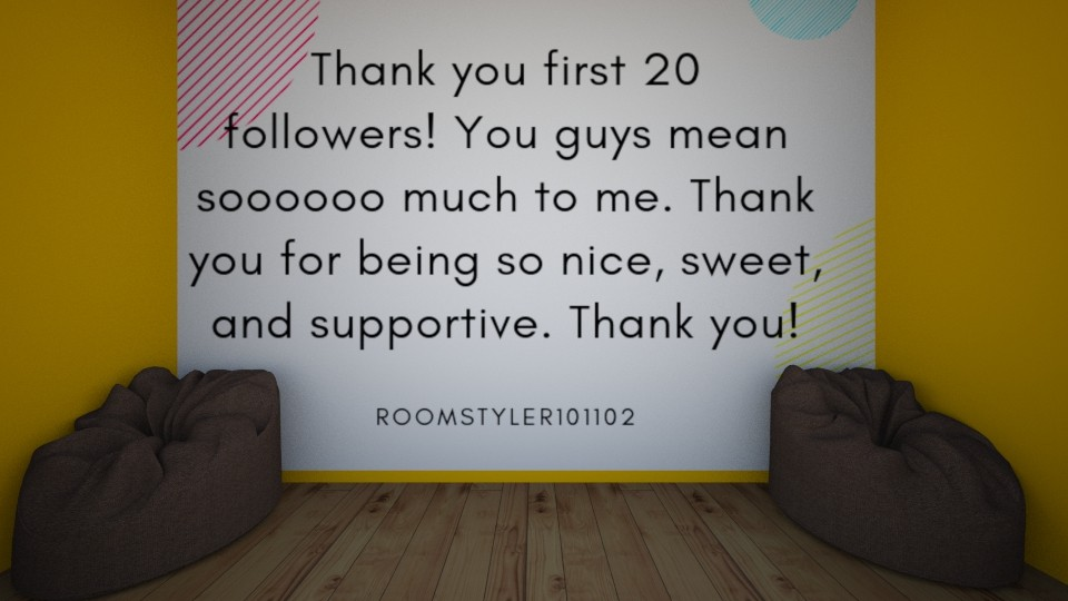 Thank you - by Roomstyler101102