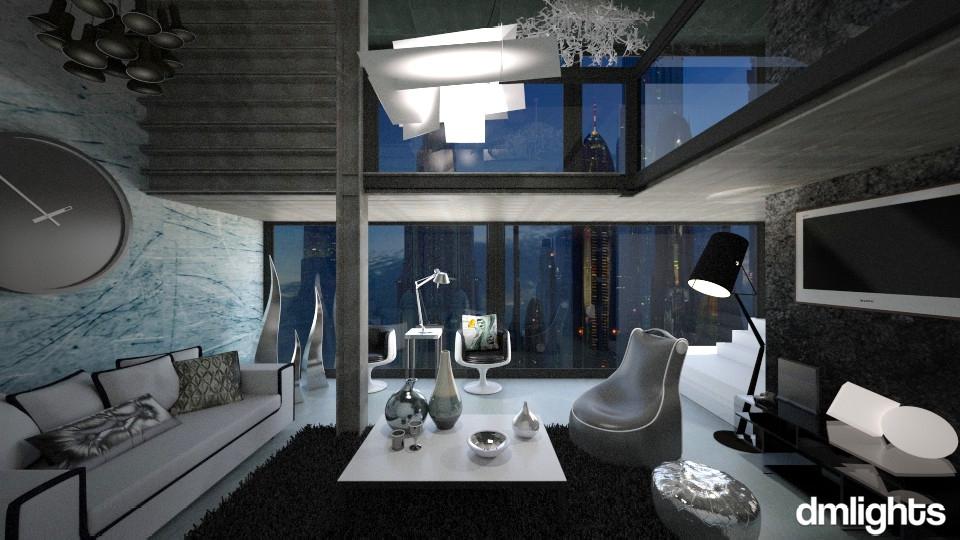 Future Living - Modern - Living room - by KRdesign
