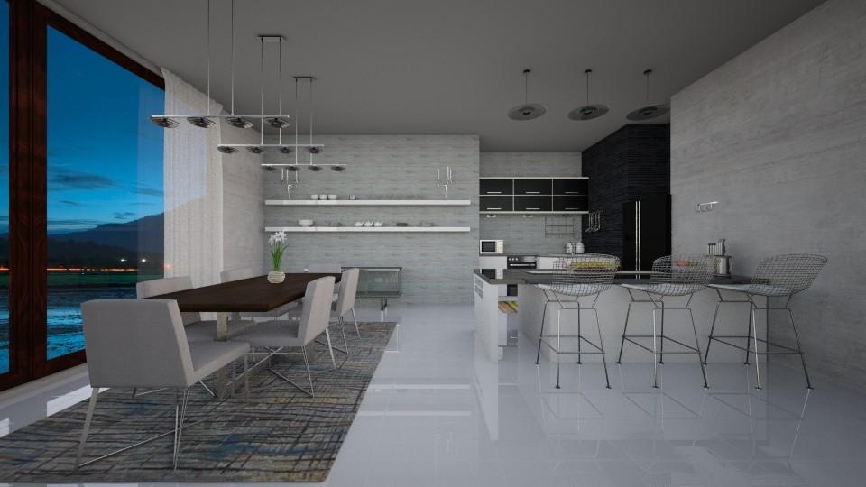 kik me - Dining room  - by camivieira94
