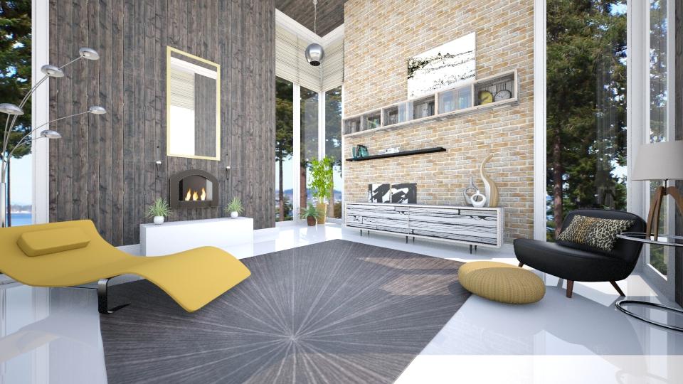 Natural Lines - Minimal - Living room - by JRem224