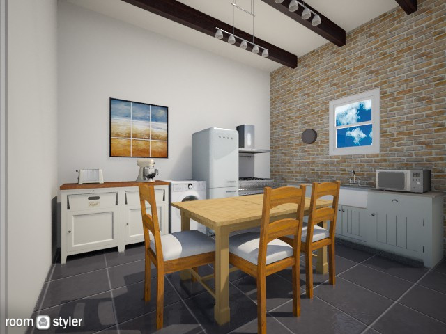 A lovely country kitchen - Kitchen - by percy8