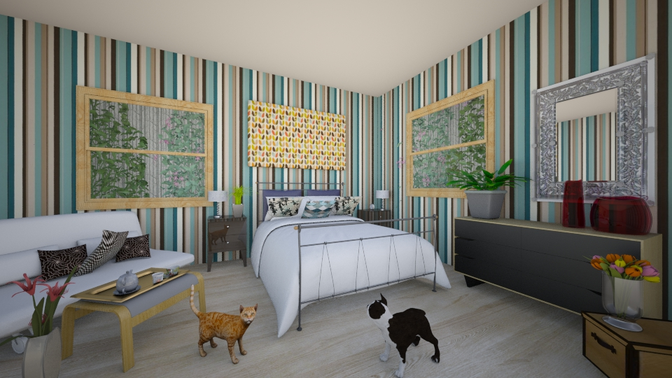 1 - Bedroom  - by abigailredon