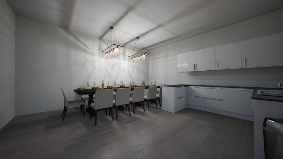 sarahs kitchen - Dining room - by _sarahbell_