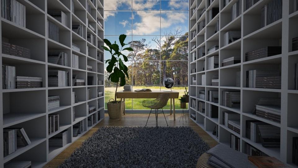 Peaceful office - by Keliann