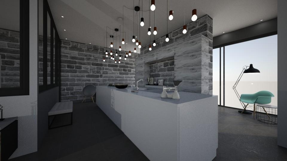 Home REZ EVOLIS Kitchen - by Shuu Dark