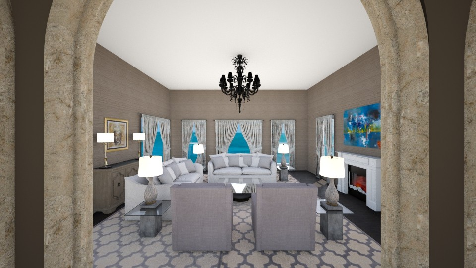 Symmetry 2 - Classic - Living room - by mattpop34
