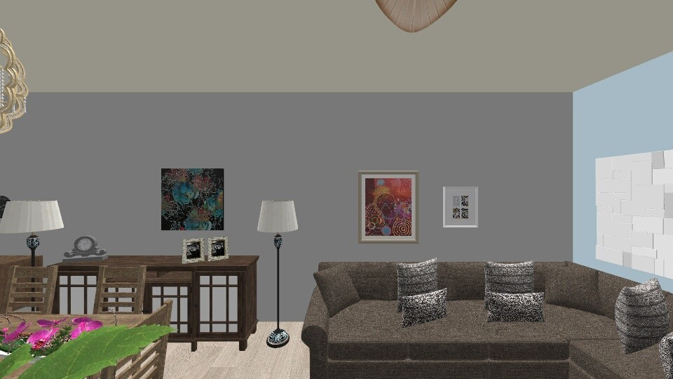 Patio - Masculine - Living room  - by suomi25