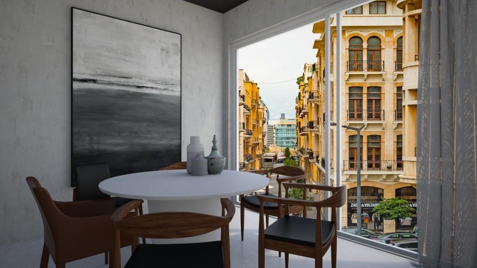 Beirut - Dining room - by Asya Aya
