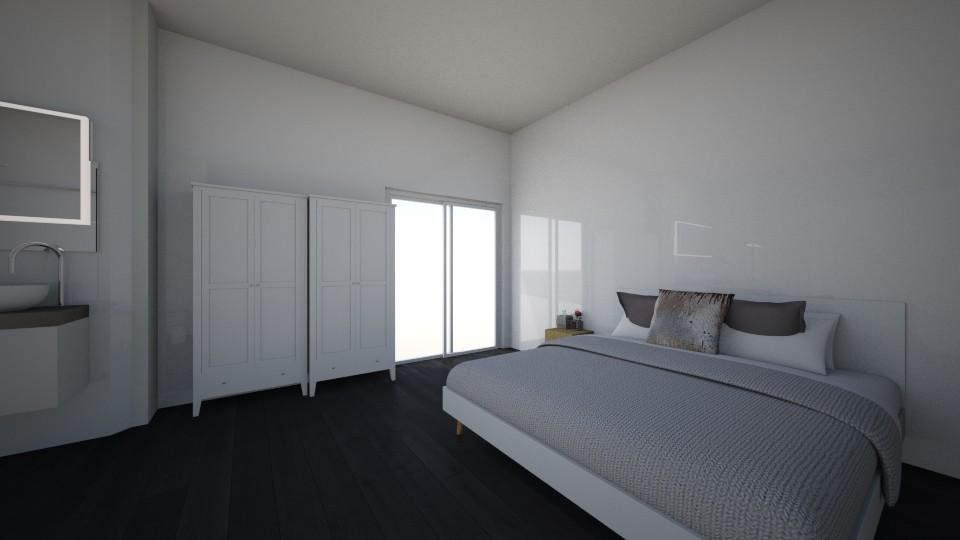 hotelroom - Modern - Bedroom - by homeee
