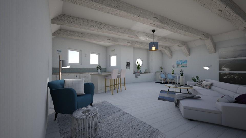 Seaside retreat - Rustic - Kitchen - by Evie11