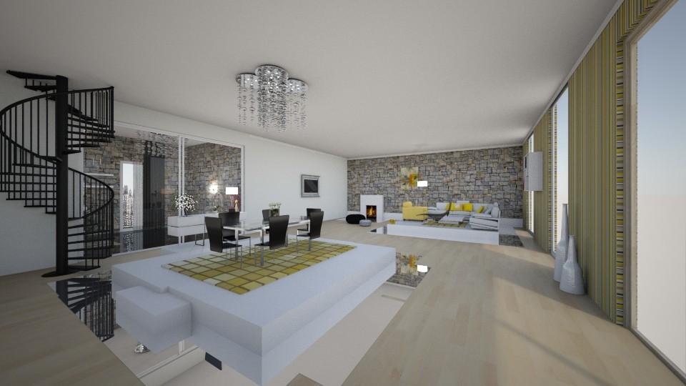 kitchen - Modern - Living room - by veki