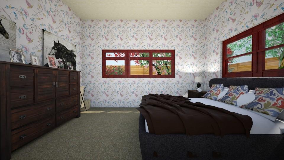 old woman bedroom - Bedroom - by scourgethekid