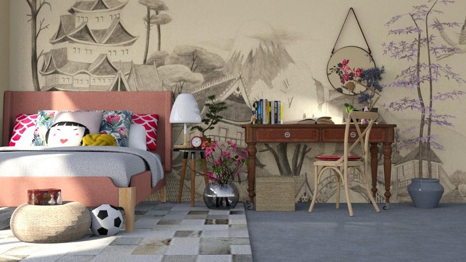 Deiji - Bedroom - by LucasMucus