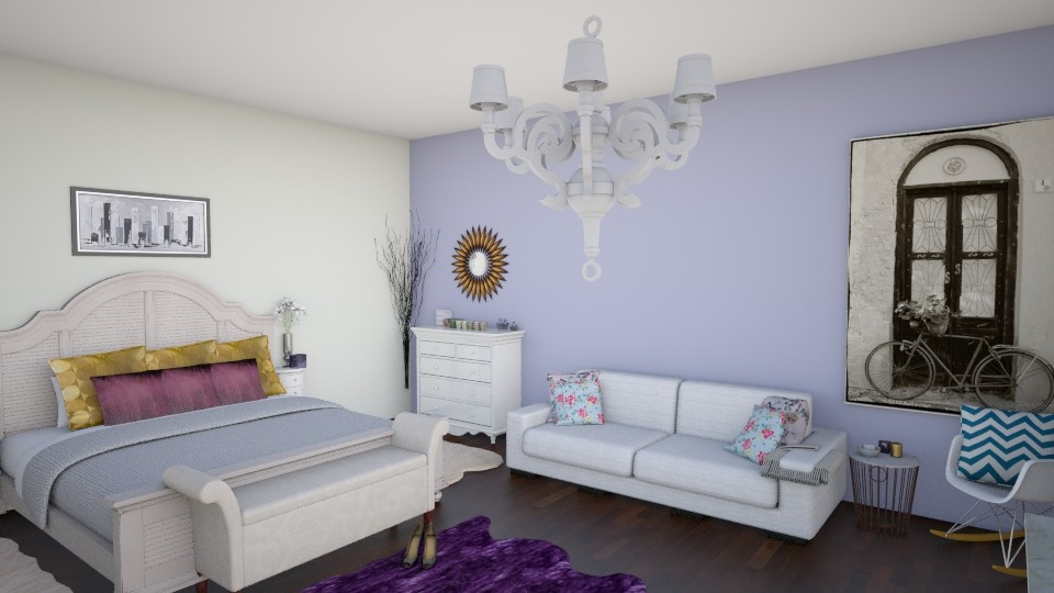 Relaxation - Modern - Bedroom  - by irene30