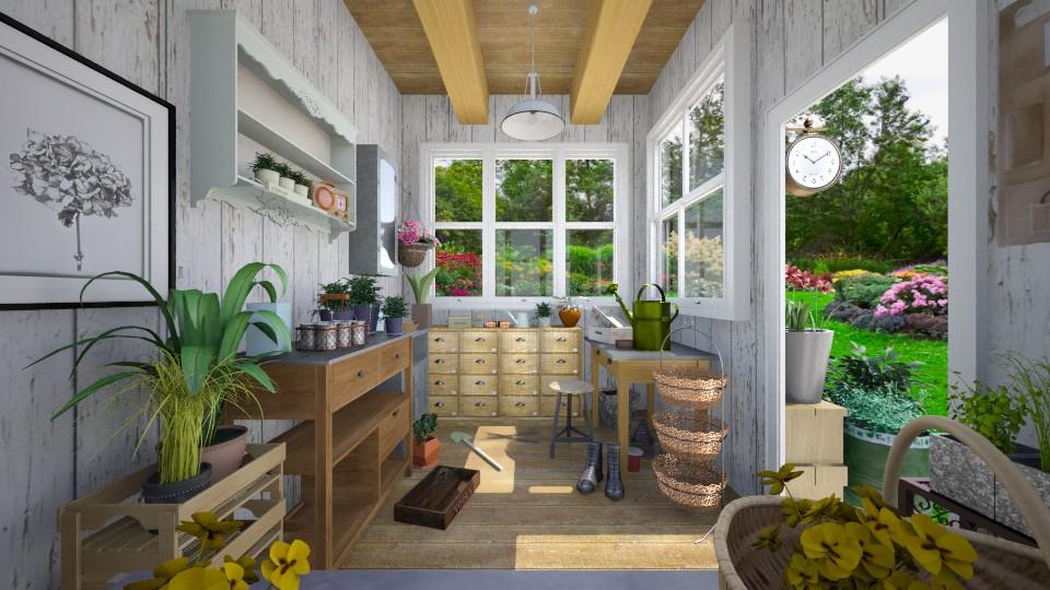 garden shed - Garden - by cyndyrelly