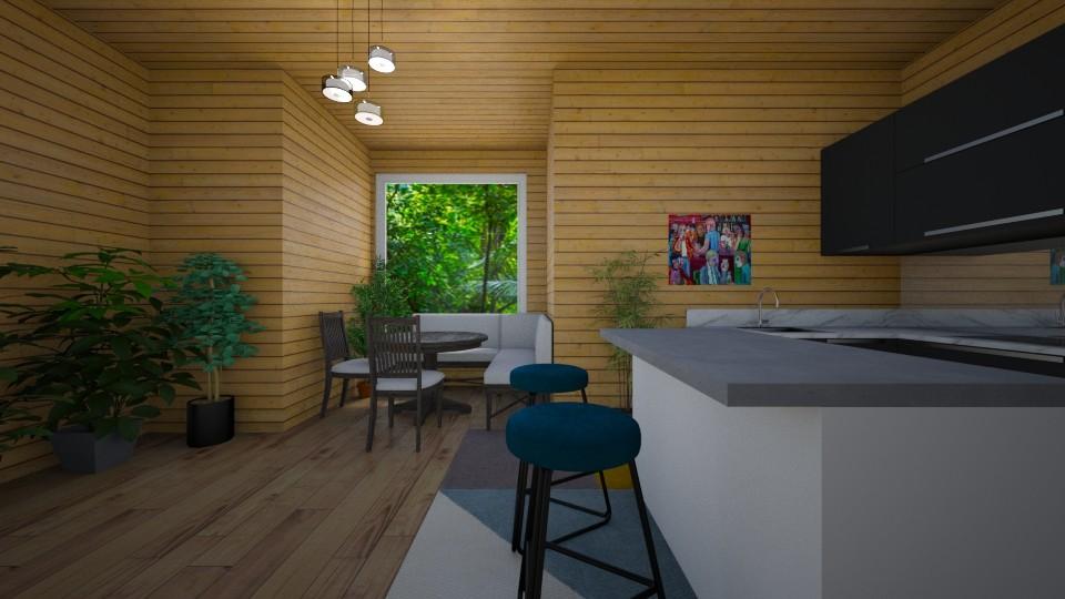 jungle cottage - Kitchen - by dia17a