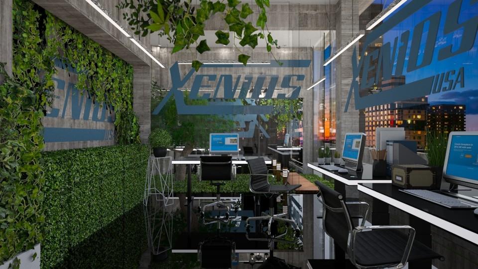 green office 2019  - Modern - Office - by Ida Dzanovic