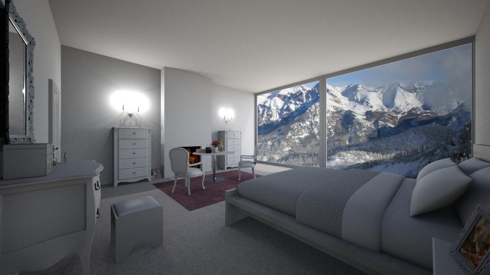 Alpes Bedroom - by Sophie Cordeiro