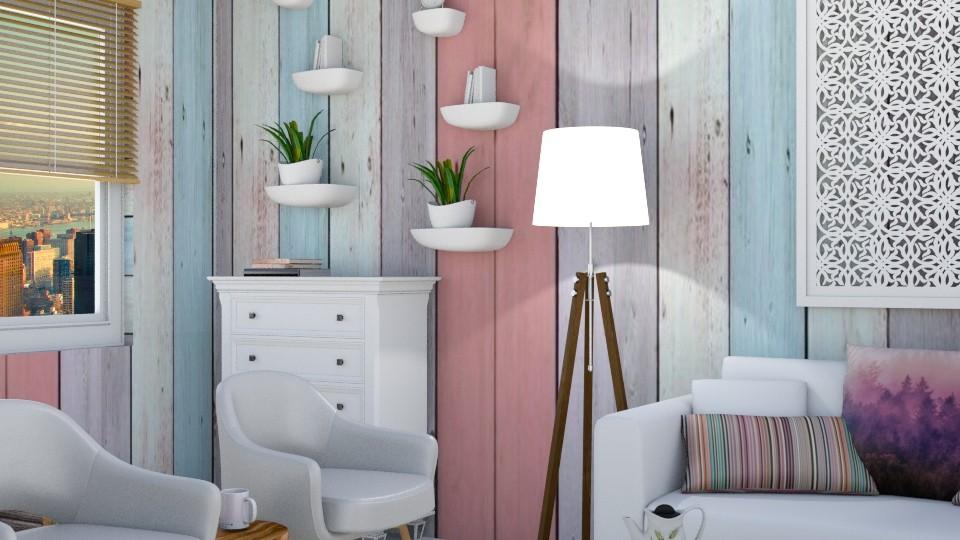 wood zoom - Living room - by wafaabdi