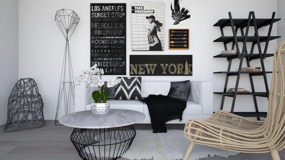 details - Living room - by Noa Sardoz