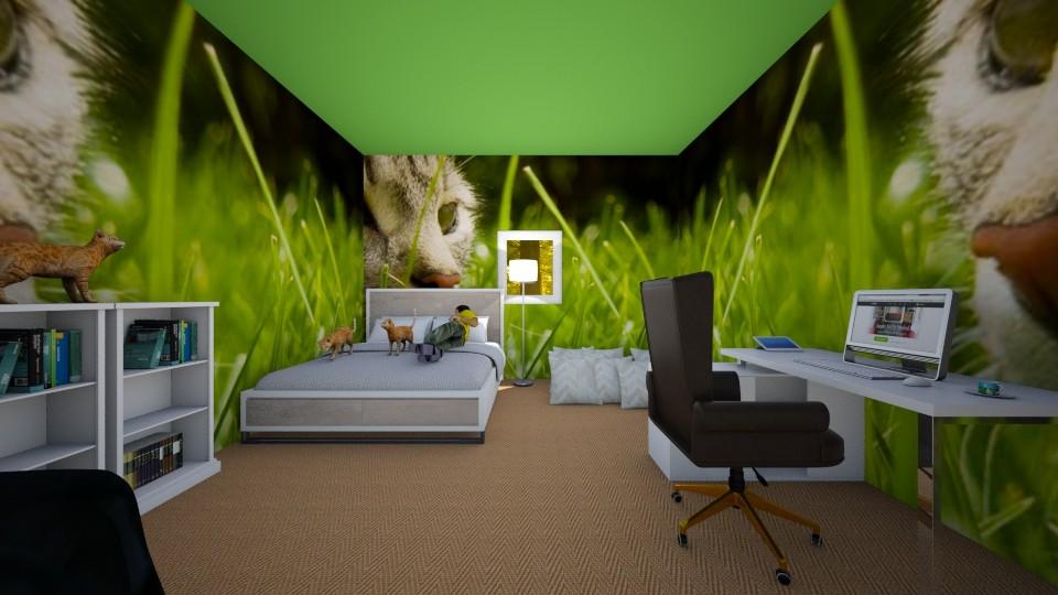 merlins room - Bedroom - by merlinmykitten