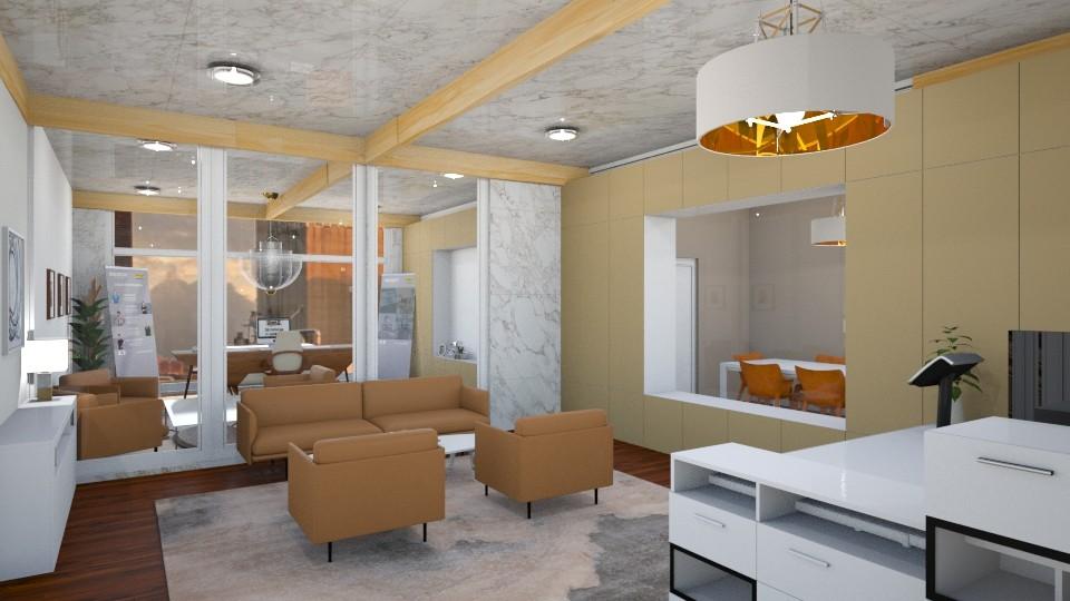 beige office - Office - by hollygilder