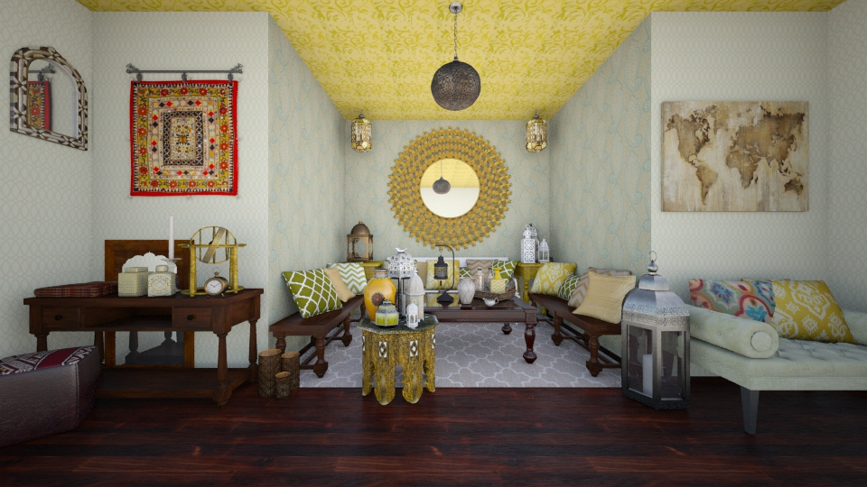 arabian flavours - Global - Living room - by Georgina Holly