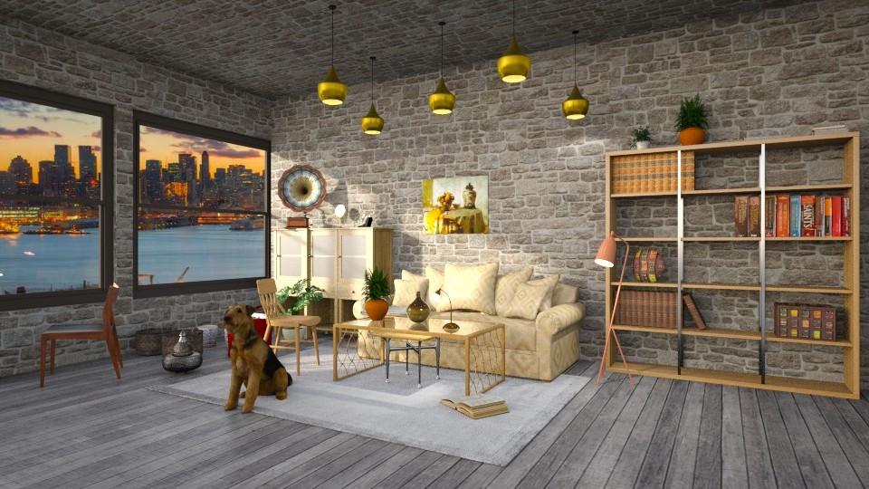 Een klein de woonkamer - Modern - Living room - by kolibrie_designer