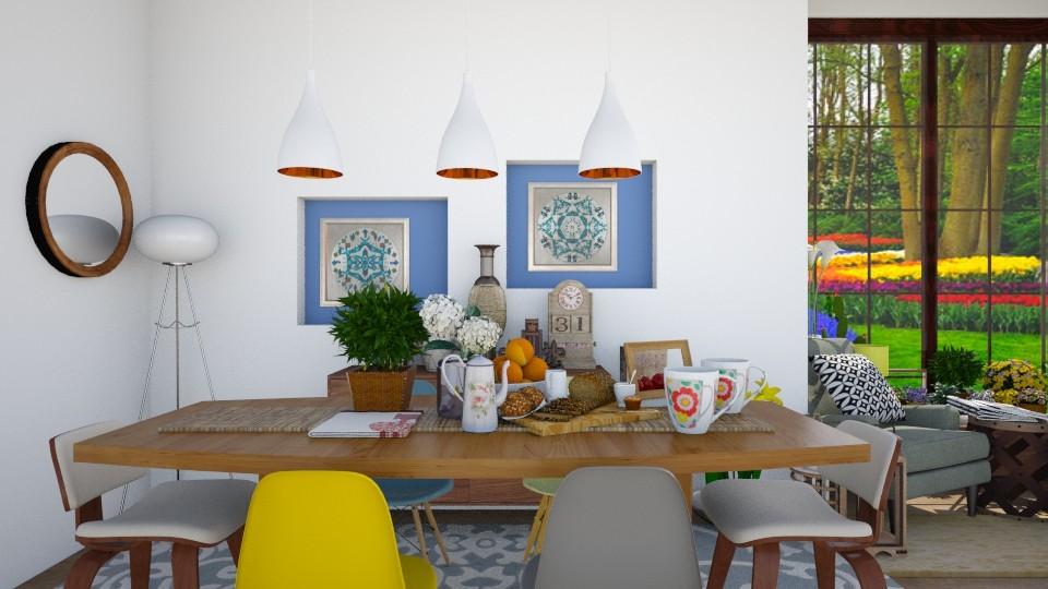 Something different - Dining room - by Mihailovikj Mimi